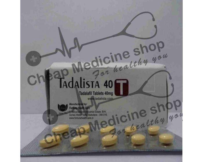 Buy Tadalista 40 Mg Tadalafil Viagra Cialis Cheap Medicine