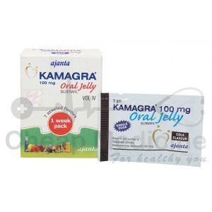 Kamagra 100Mg, Sildenafil Oral Jelly front View