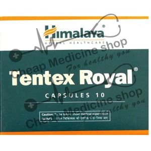 Tentex Royal Caps  (14+100) Mg