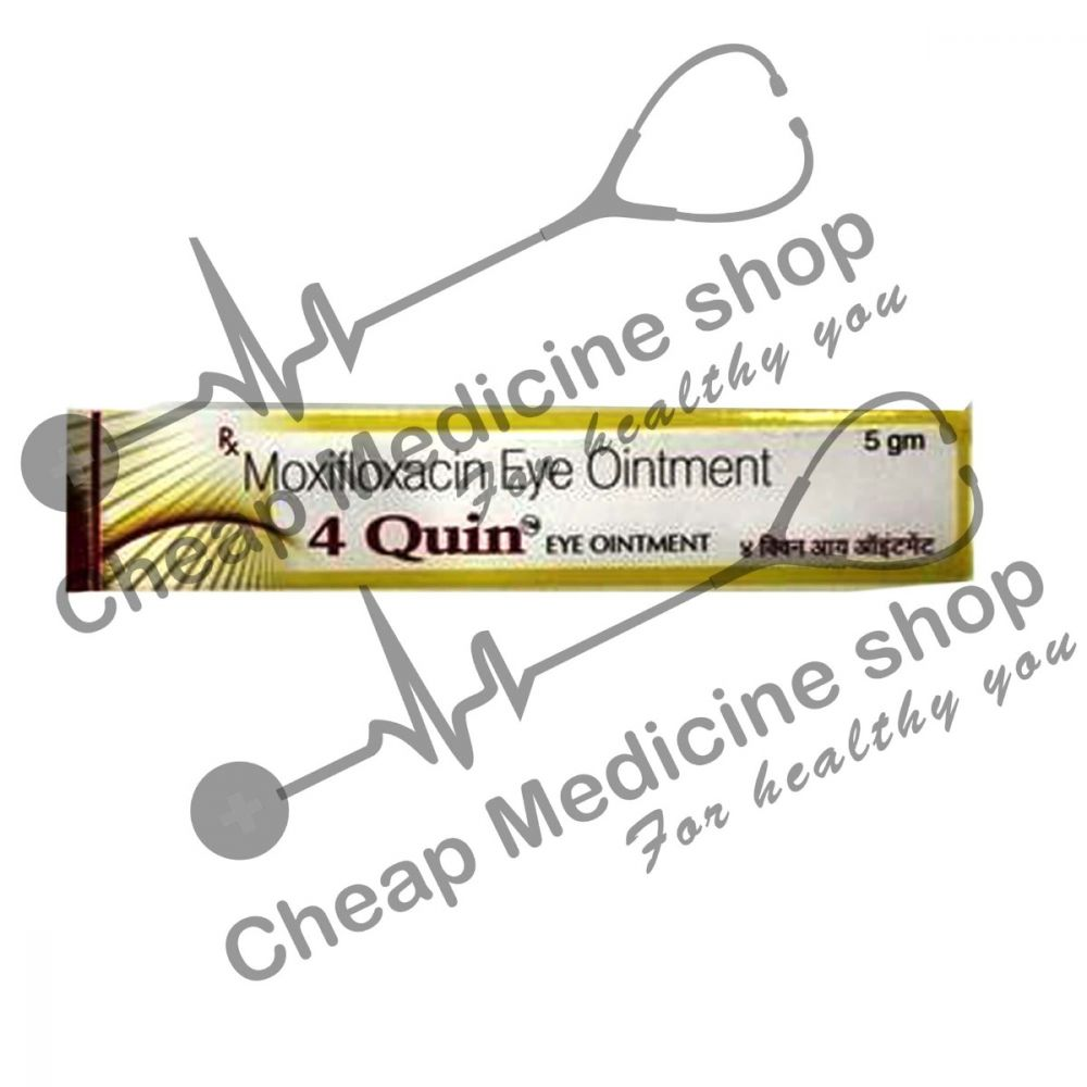 Buy 4Quin 5 gm Eye Ointment