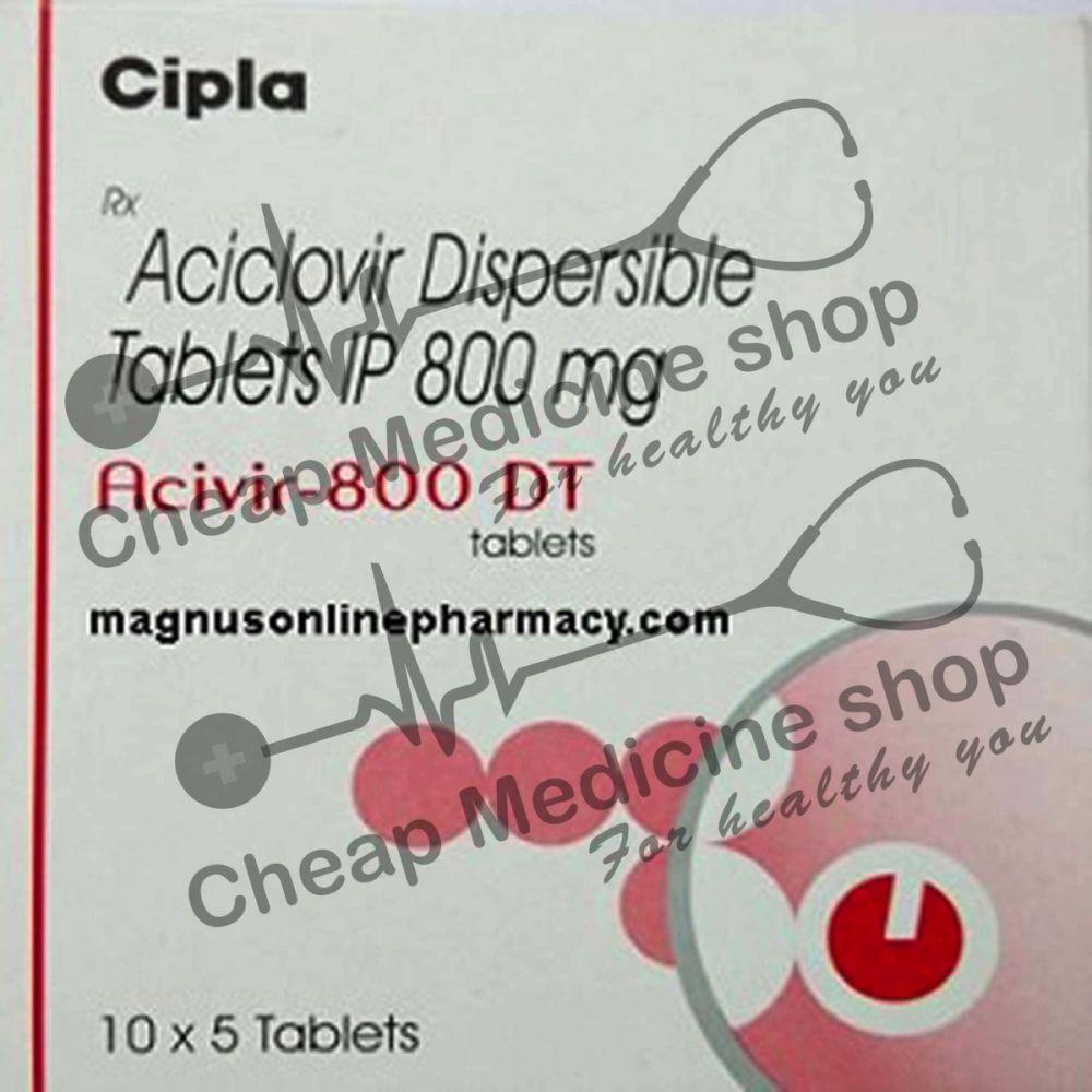 Buy Acivir  800 Mg (Acyclovir)