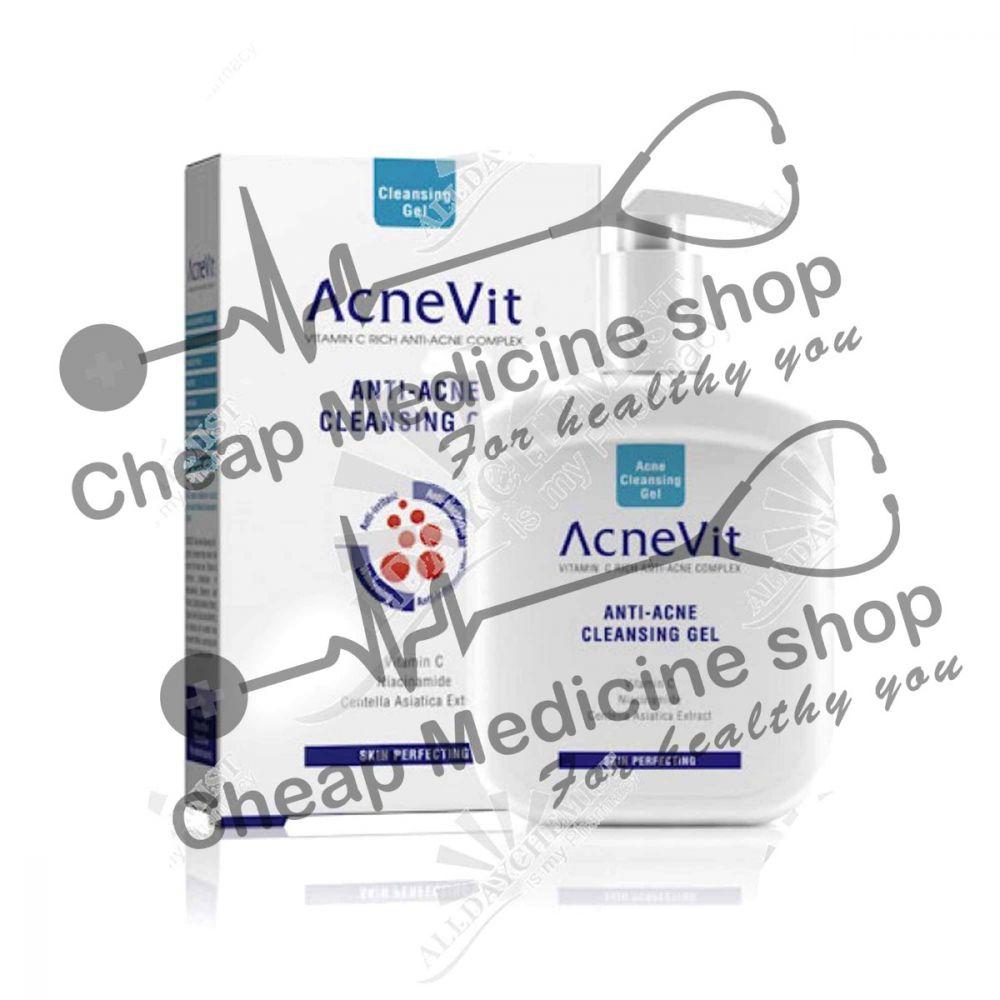Buy Acnevit Anti Acne Facial Cleansing Gel