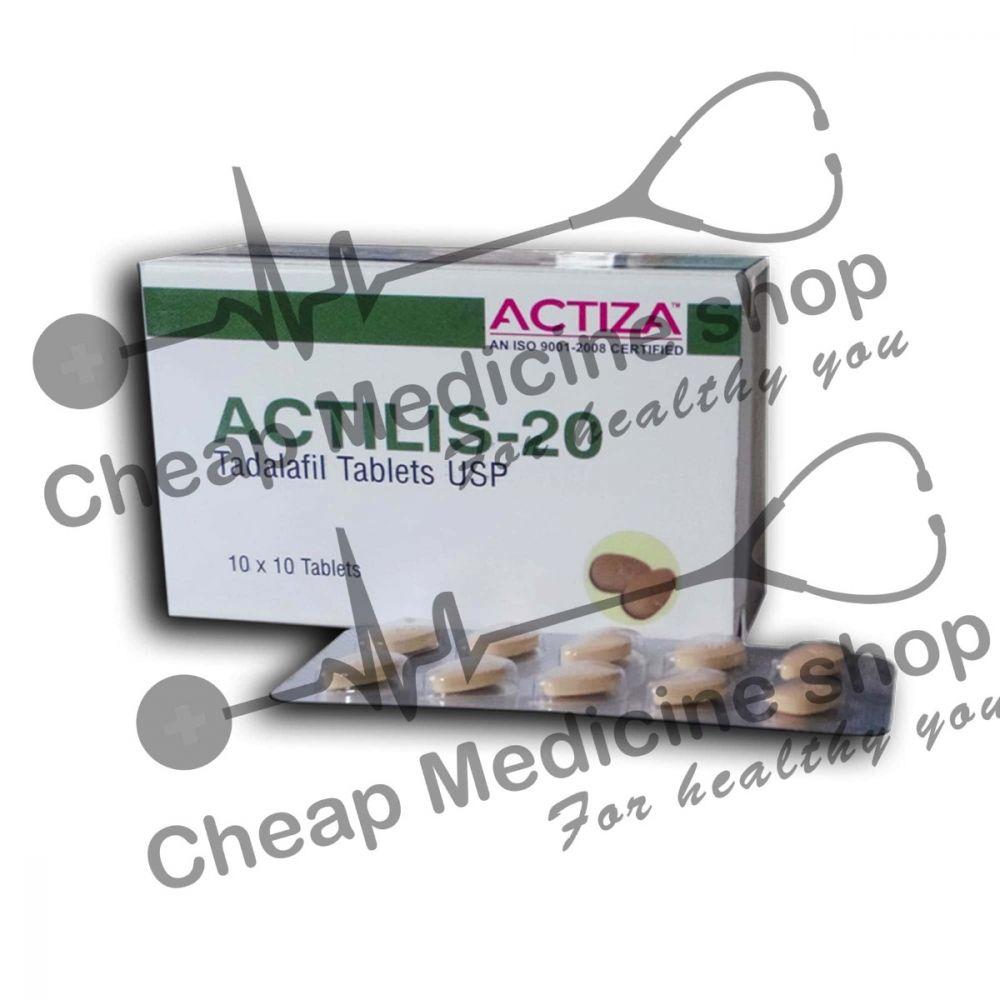 Buy Actilis 20 Mg