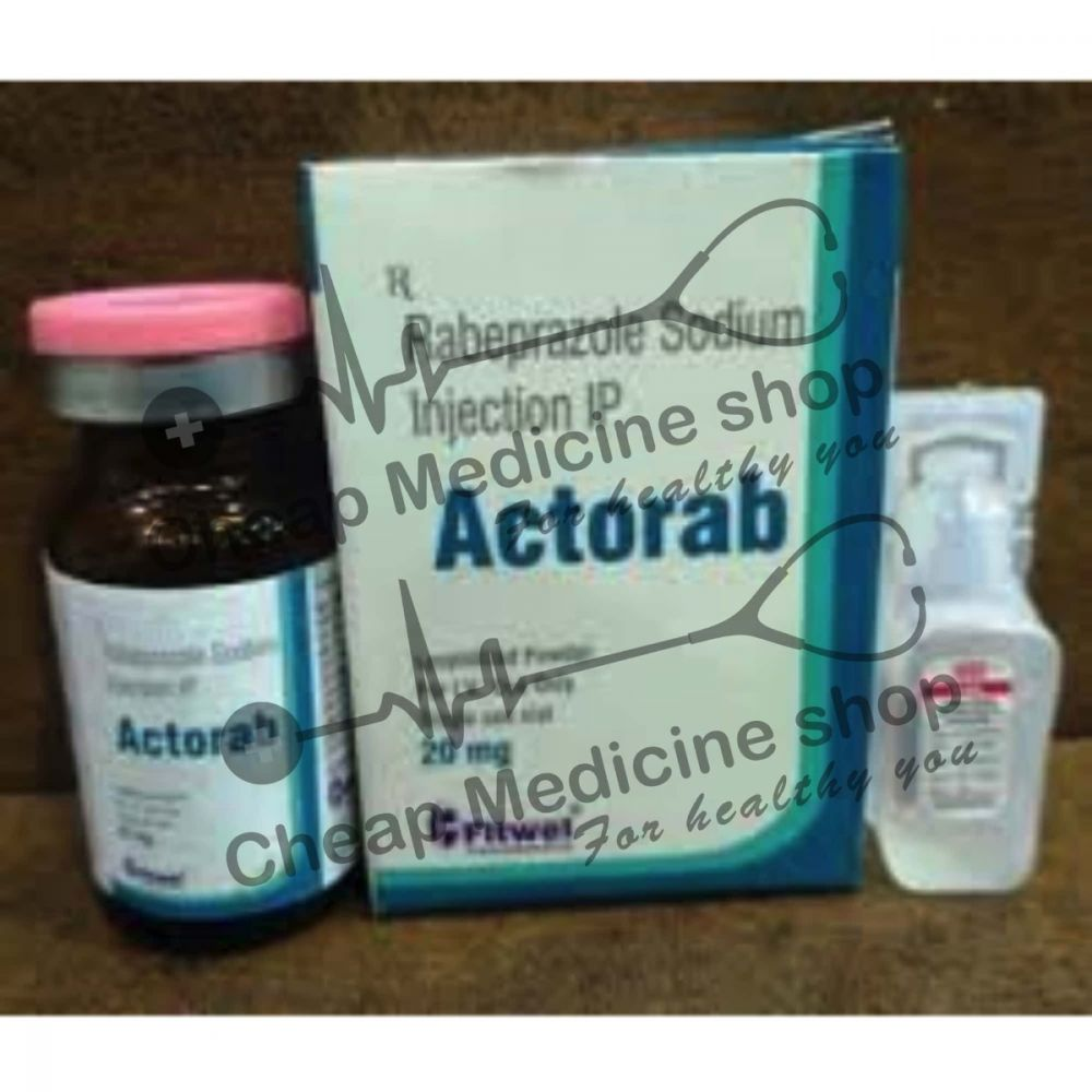Buy Actorab 20 Mg Powder for Injection