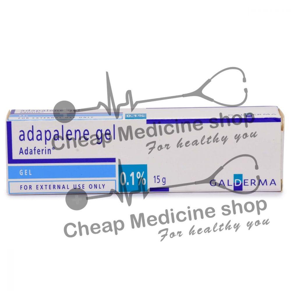 Adaferin Gel 0.1% (15 Gm), Differin, Adapalene