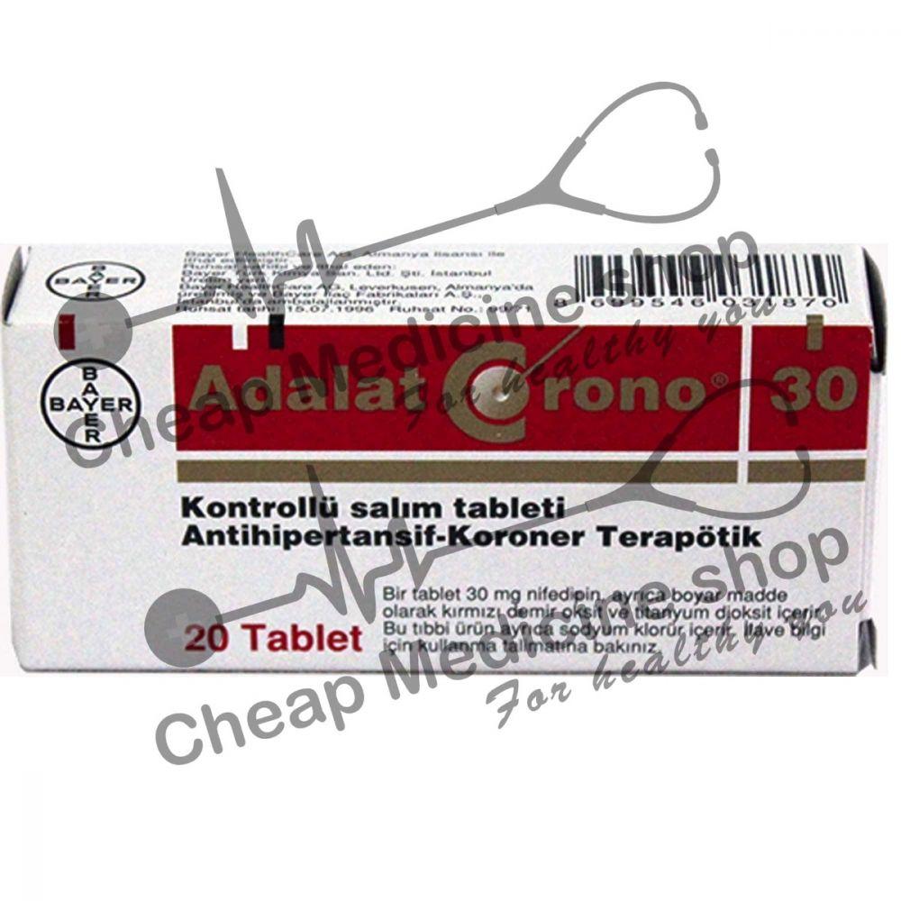 Buy Adalat Chrono  30 Mg