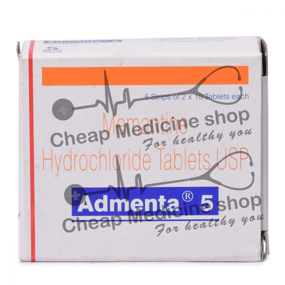 Admenta 5 Mg, Namenda, Memantine