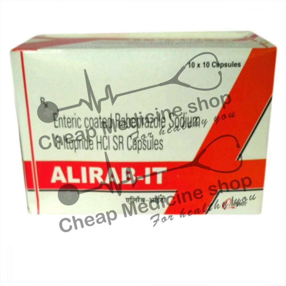 Buy Alirab IT 20Mg/150Mg Capsule