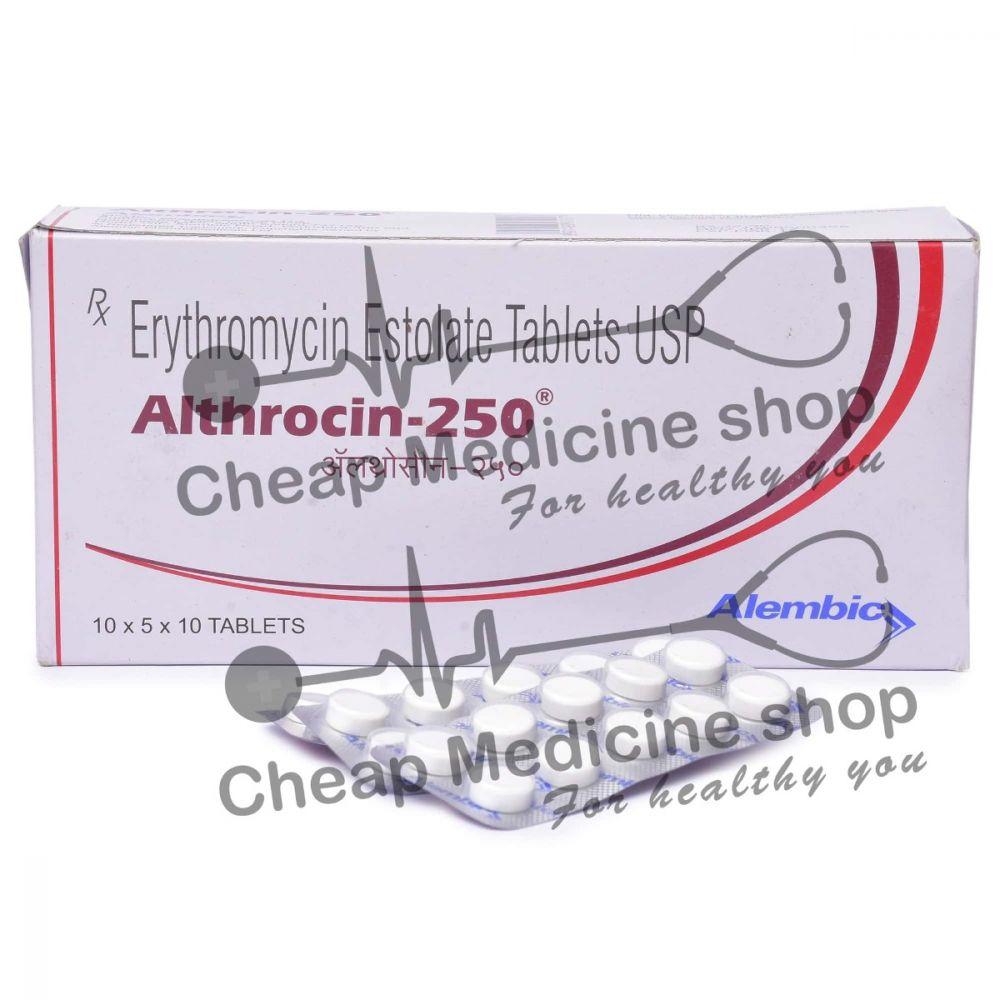 Althrocin 250 Mg, Eryped, Erythromycin