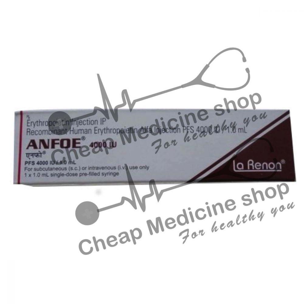 Buy Anfoe 4000 IU Injection 1 ml prefilled syringe