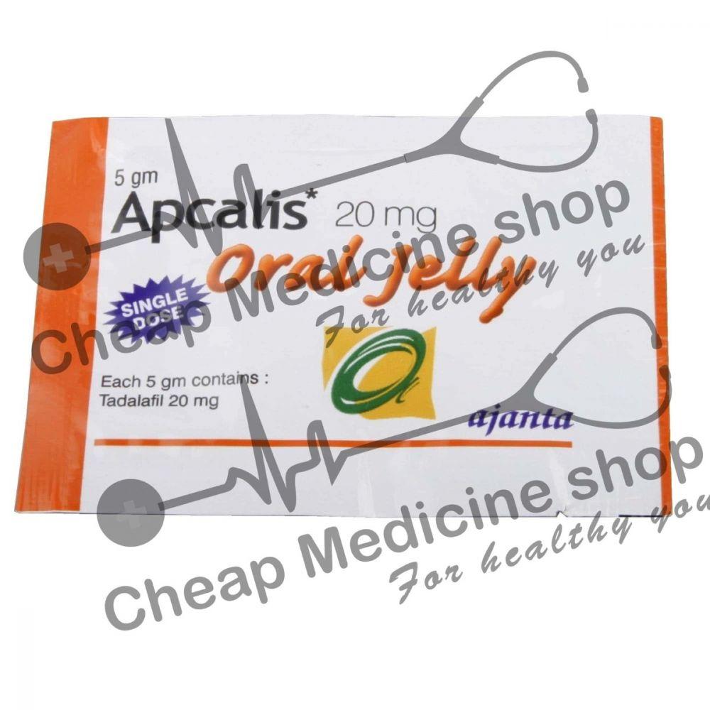 Buy  Apcalis Oral Jelly 20 Mg