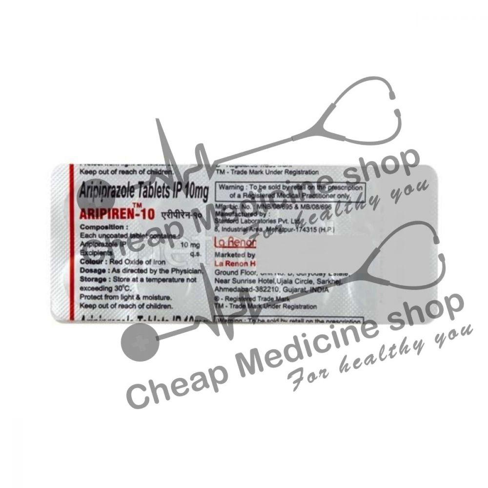 Buy Aripiren 20 Mg Tablet