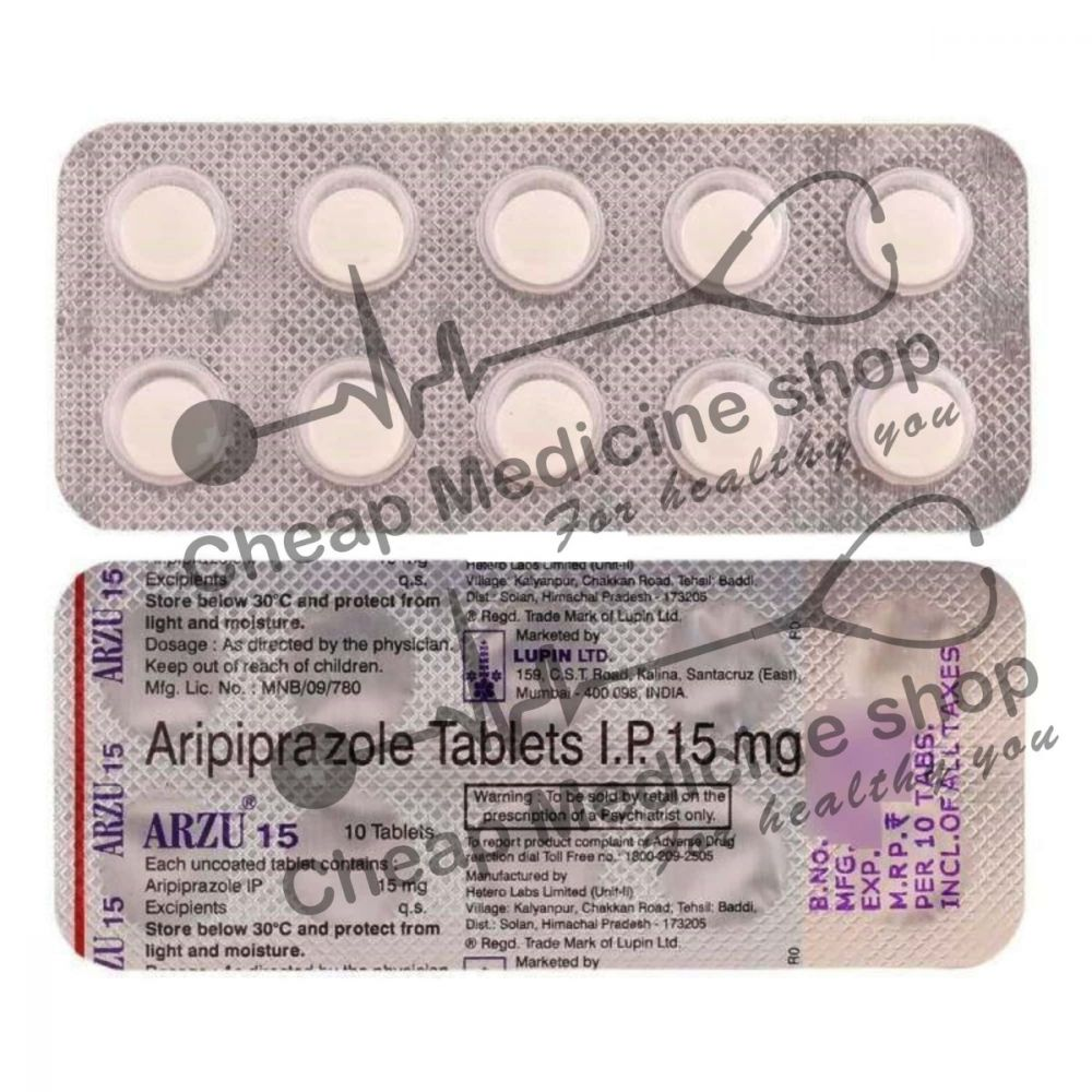 Buy Arzu 15 Mg Tablet