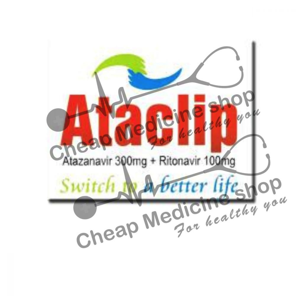 Buy Ataclip 300 Mg/100 Mg Tablet