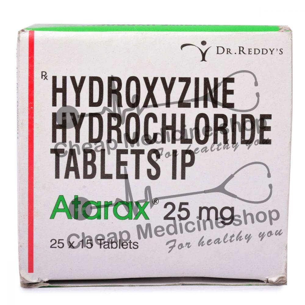 Atarax 25 Mg, Atarax, Hydroxyzine HCl