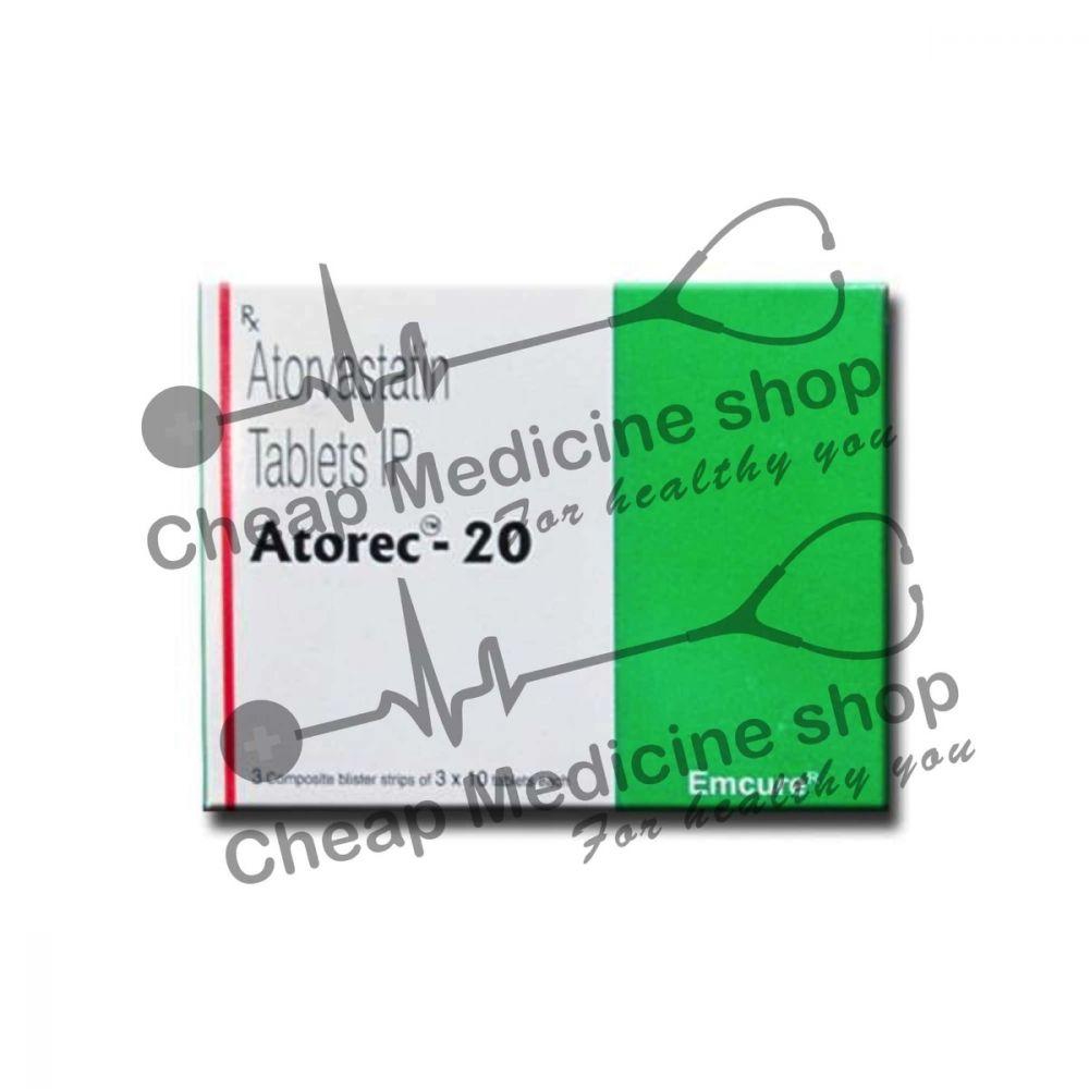 Buy Atocor 20 Tablet