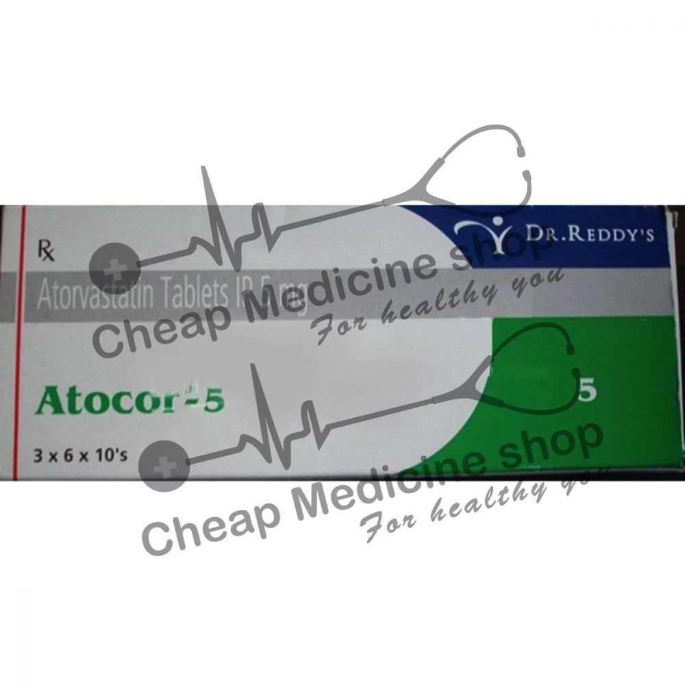 Buy Atocor 5 Tablet