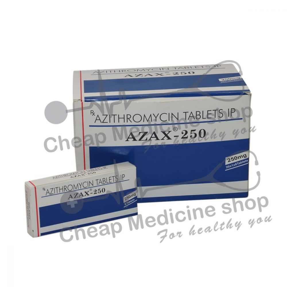 Azax 250 Mg, Zithromax, Azithromycin