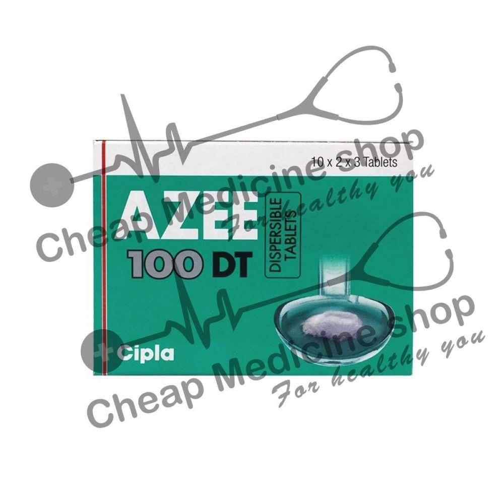 Buy Azee DT 100 Mg