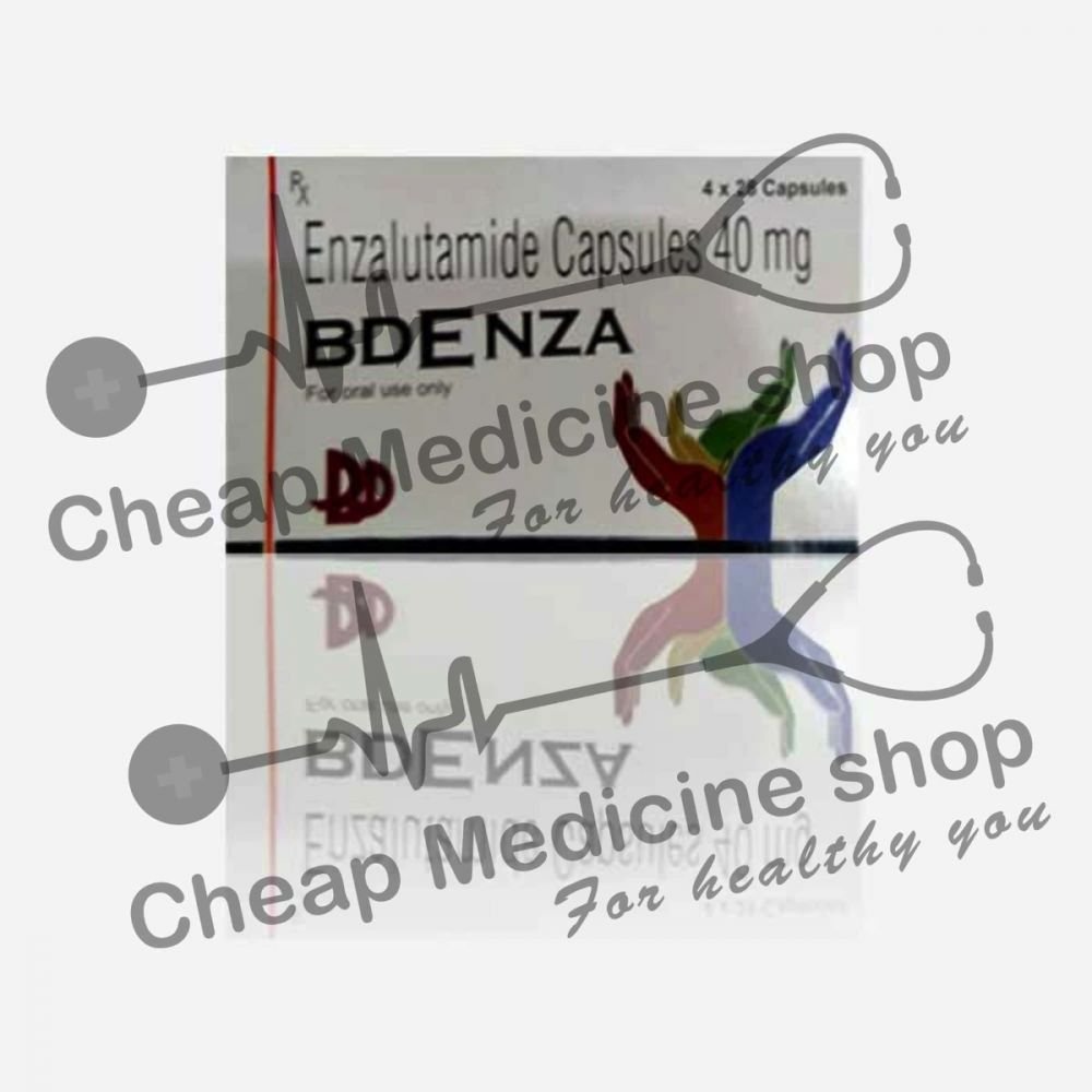 Bdenza 40 Mg Capsules Enzalutamide It S Uses Side