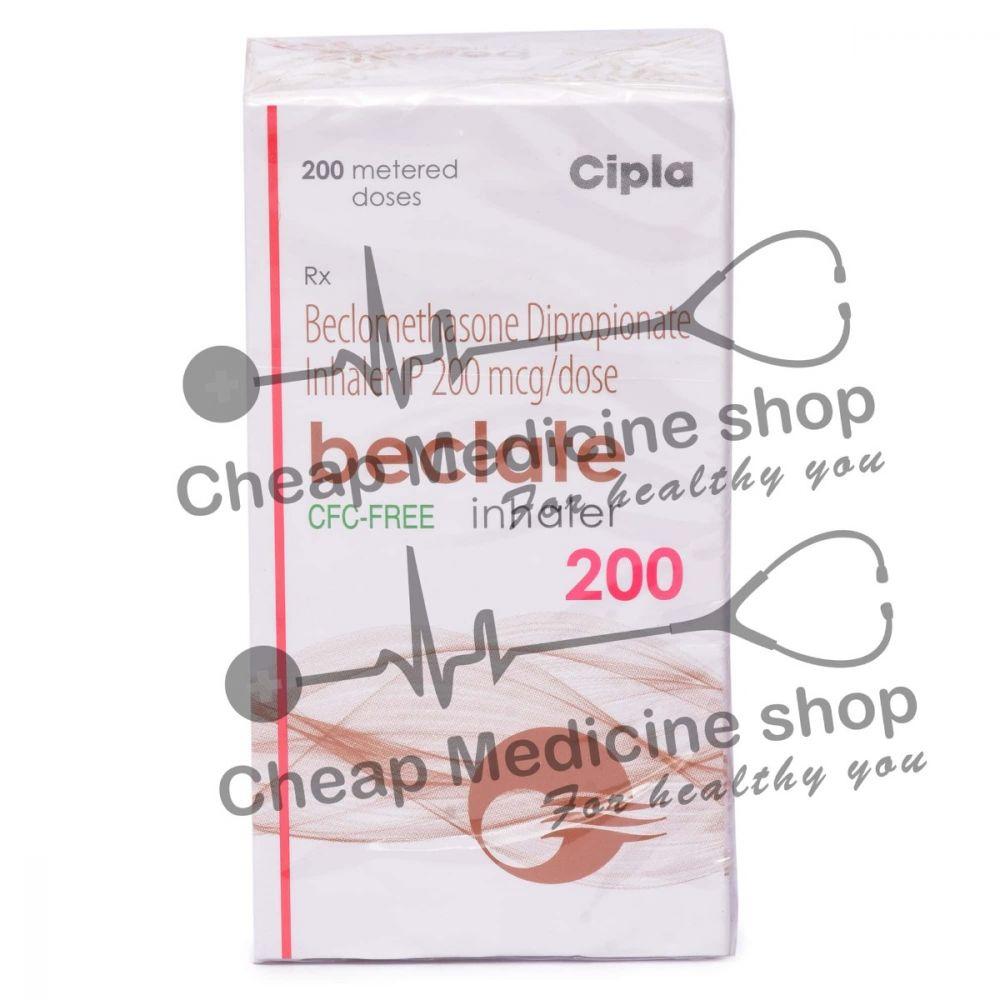 Beclate Inhaler 200 Mcg, Beclovent Inhaler, Beclomethasone Dipropionate