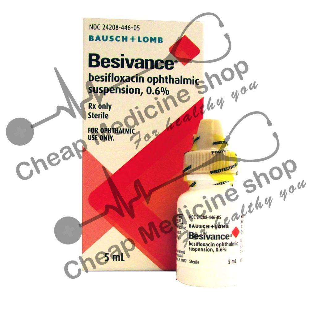 Buy Besivance 0.6% 5 ml Eye Drop