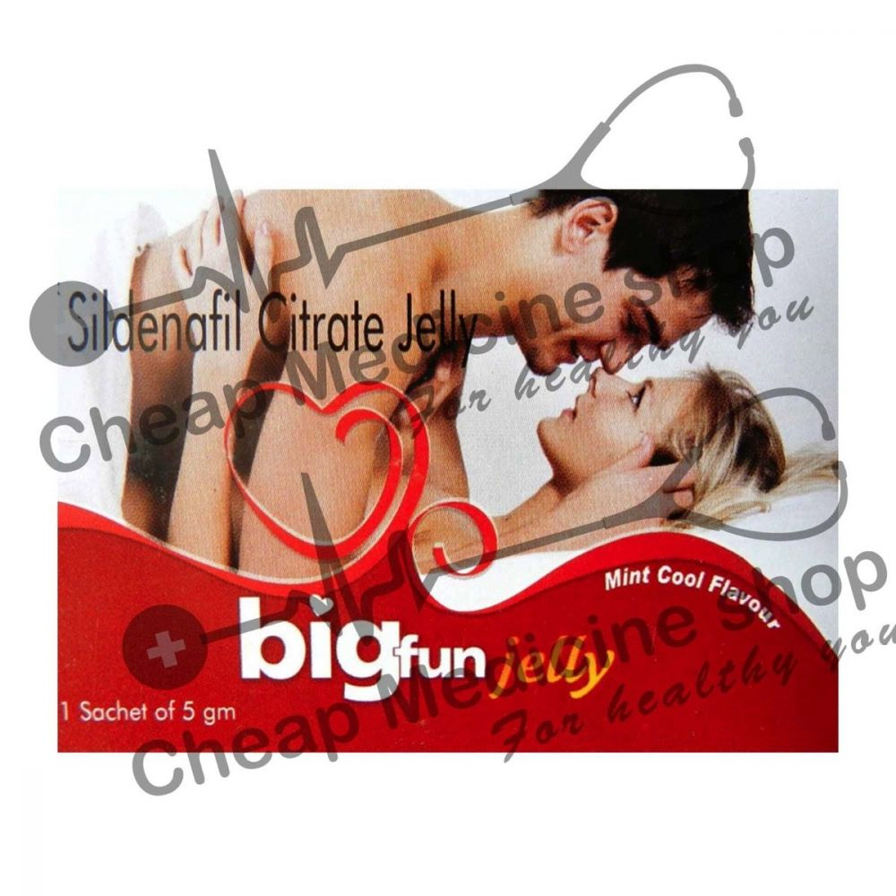Buy Bigfun Jelly 100 Mg