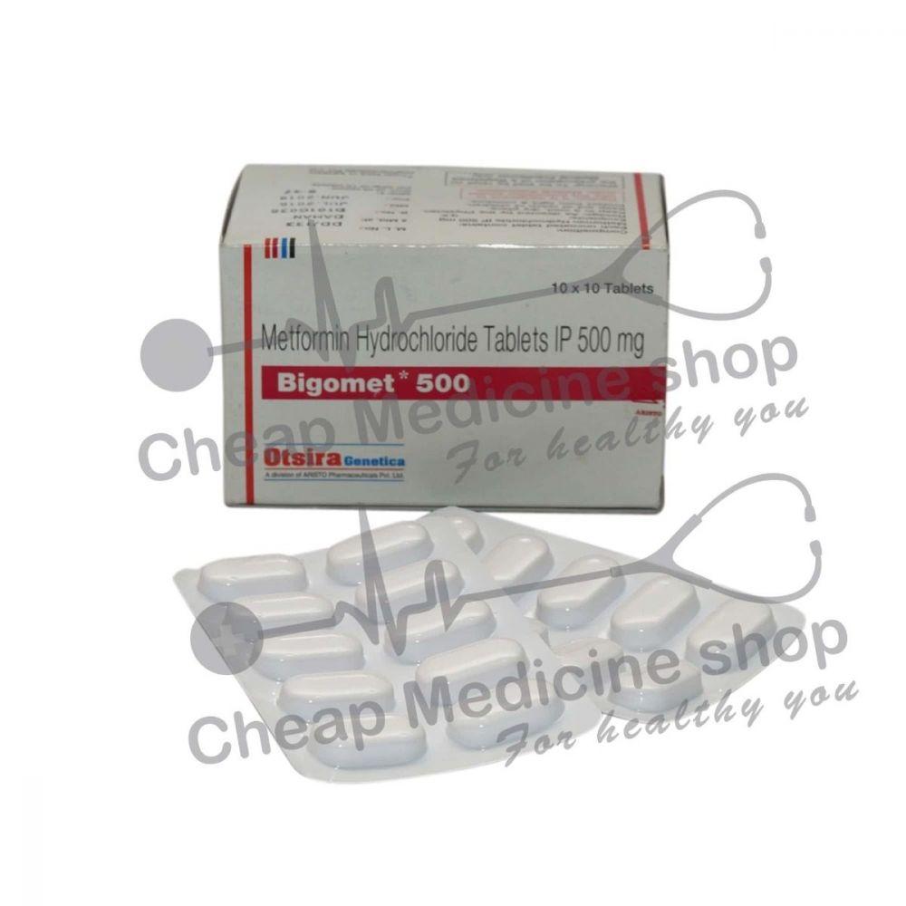 Bigomet 500 Mg, Glucophage, Metformin