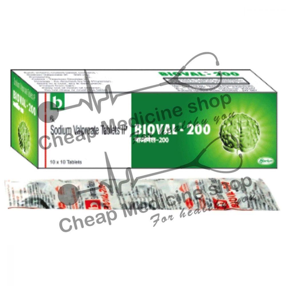 Buy Bioval 200 Mg Tablet EC