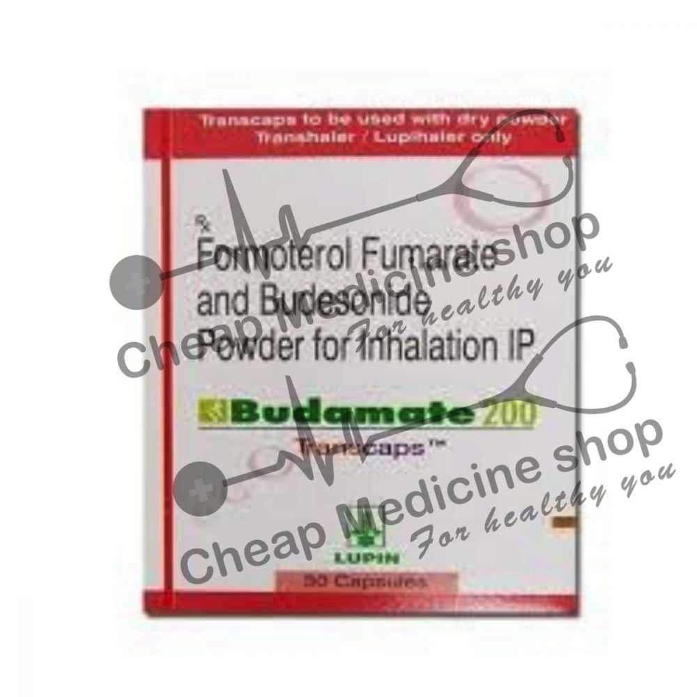 Buy Budamate 200 Transcaps