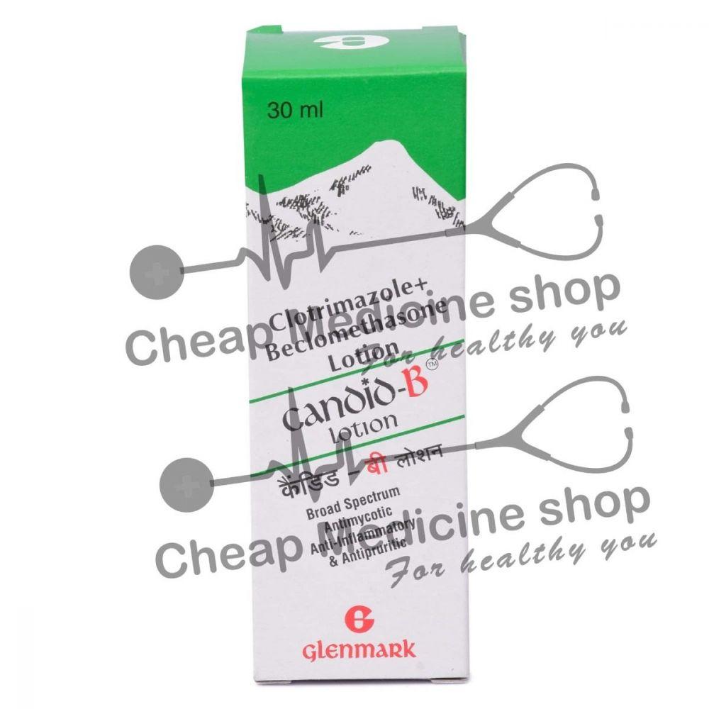 Candid B Lotion 30 ml, Candid B Cream, Beclometasone Topical, Clotrimazole Topical