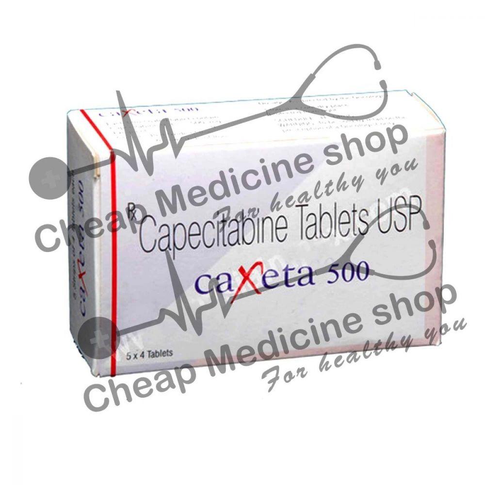 Buy Caxeta 500 Mg (Xeloda, Capecitabine)
