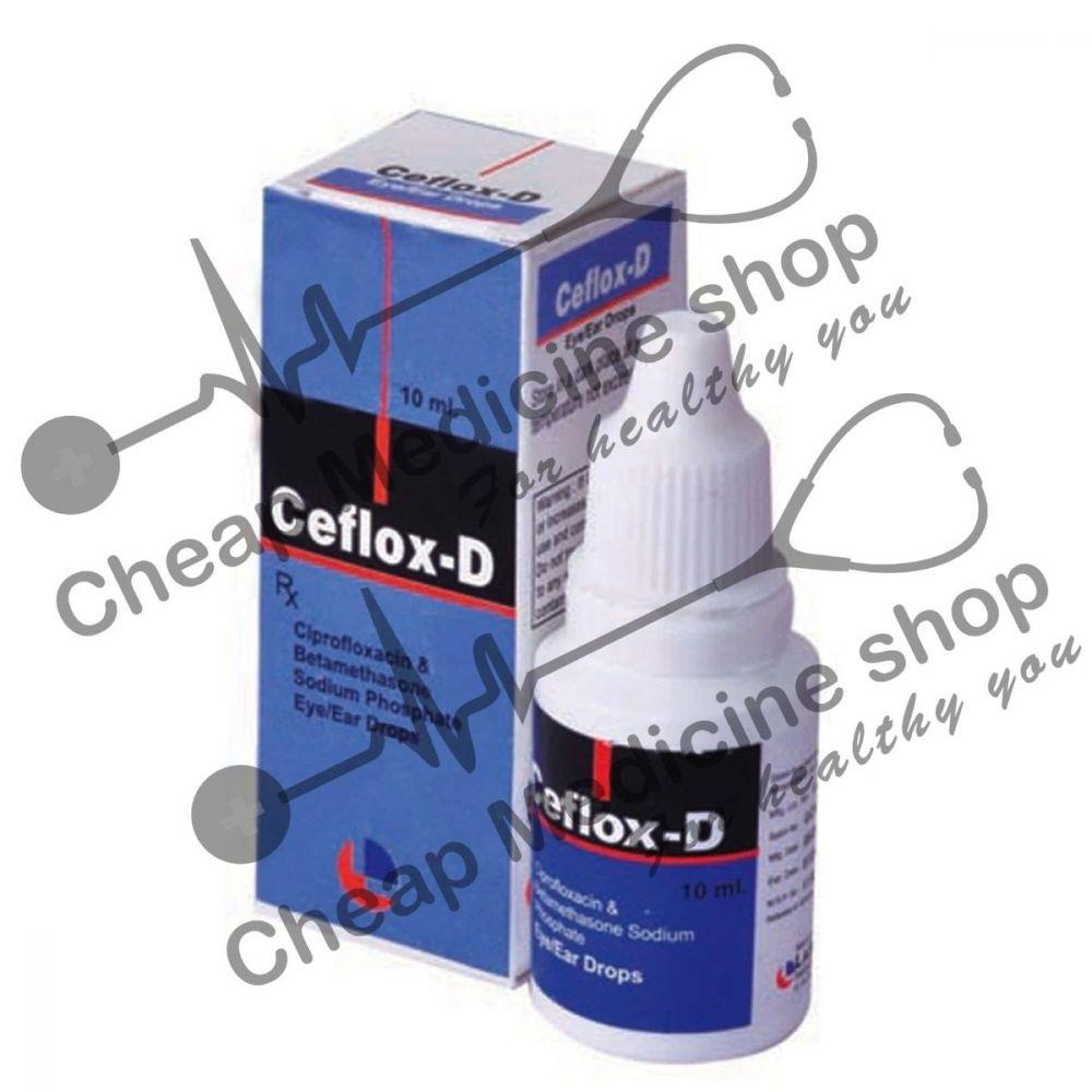 Buy Ceflox D 10 ml Eye Drop