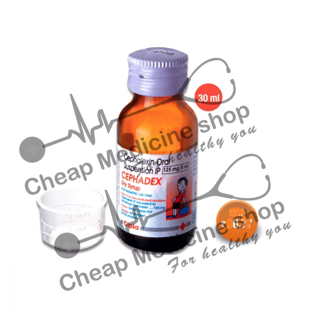 Buy Cephadex 500 Mg Syrup 30 ml (Keflex)
