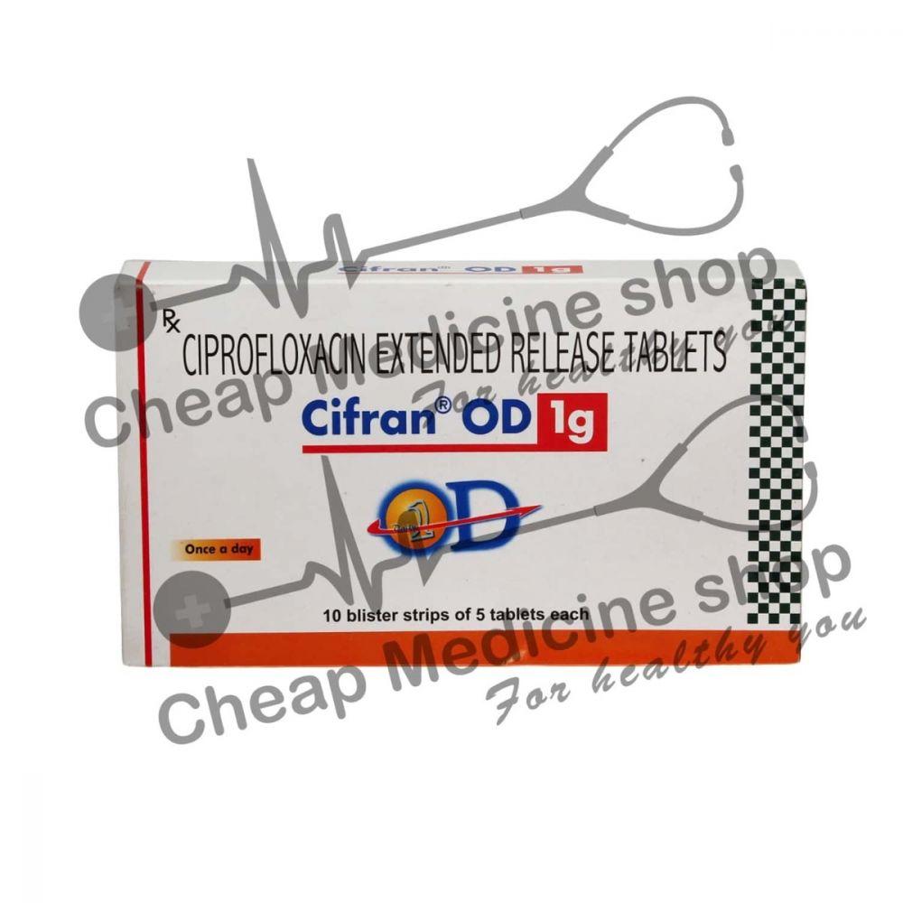 Cifran OD 1 Mg