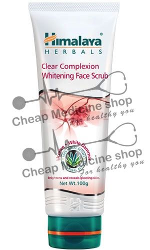 Clear Complexion Whitening Face Scrub 50gm