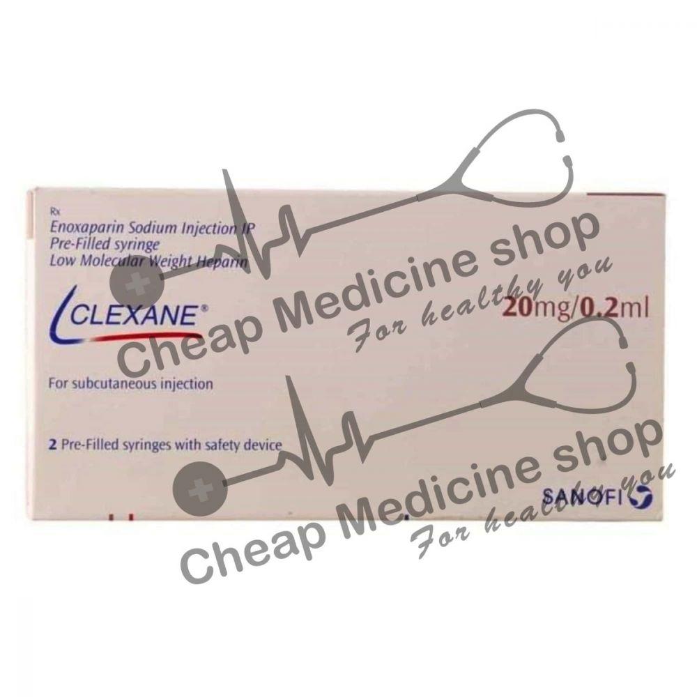 Buy Clexane 20 Mg Injection