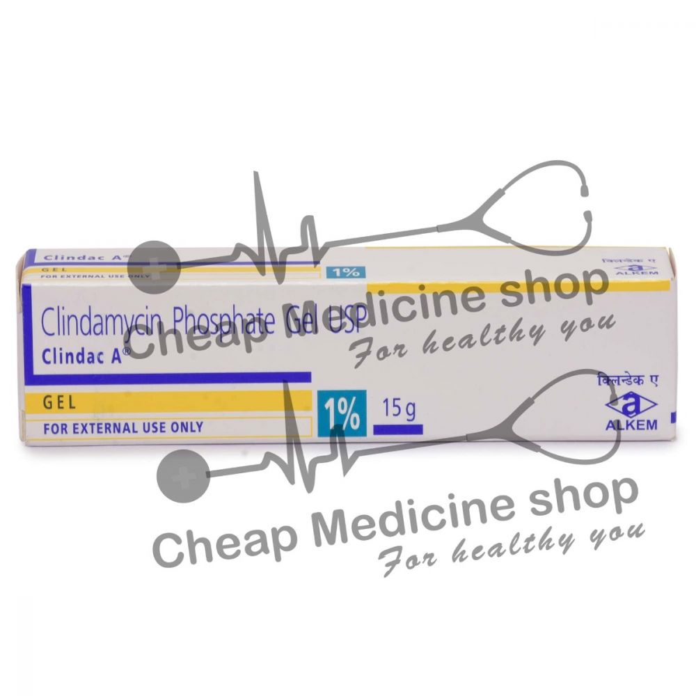 Clindac A 15 Gm, Cleocin T, Clindamycin Phosphate Gel