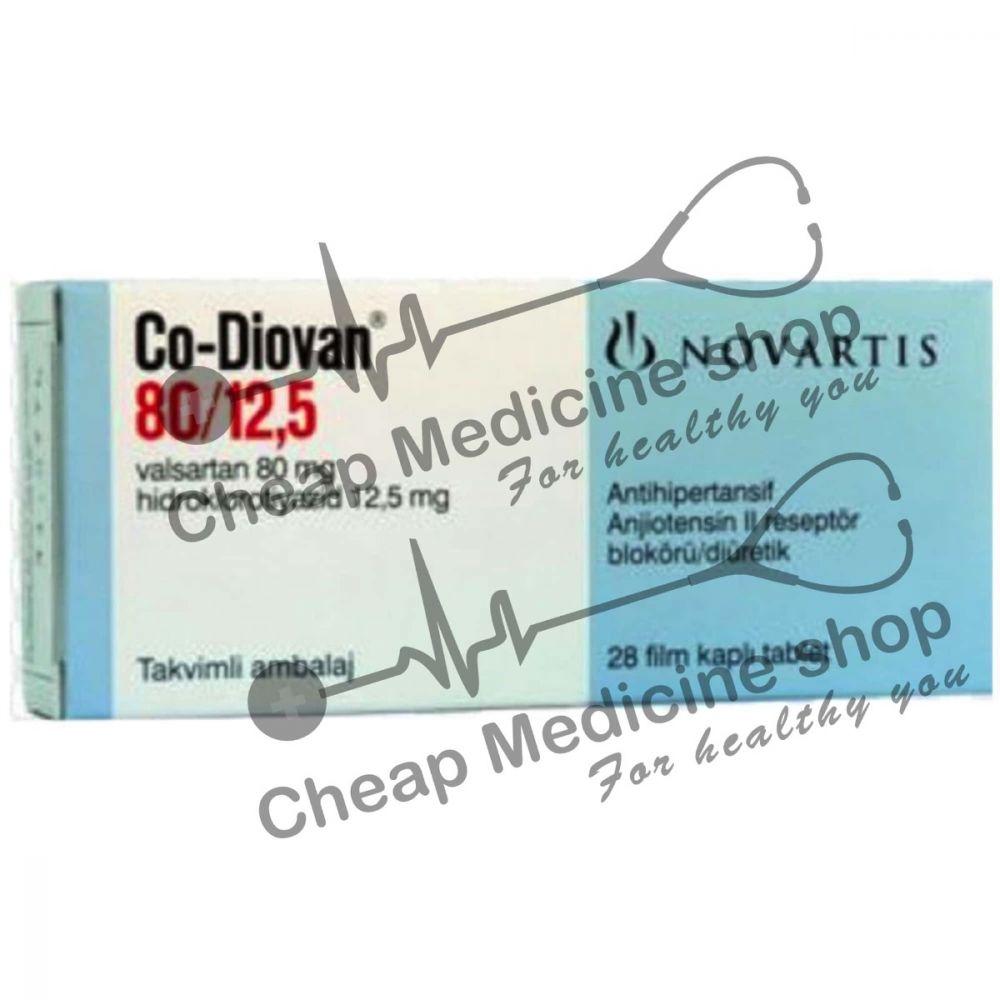Buy Co-Diovan 80/12.5 Tablet