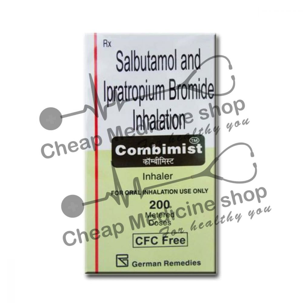 Buy Combimist 100 Mcg/20 Mcg Inhaler