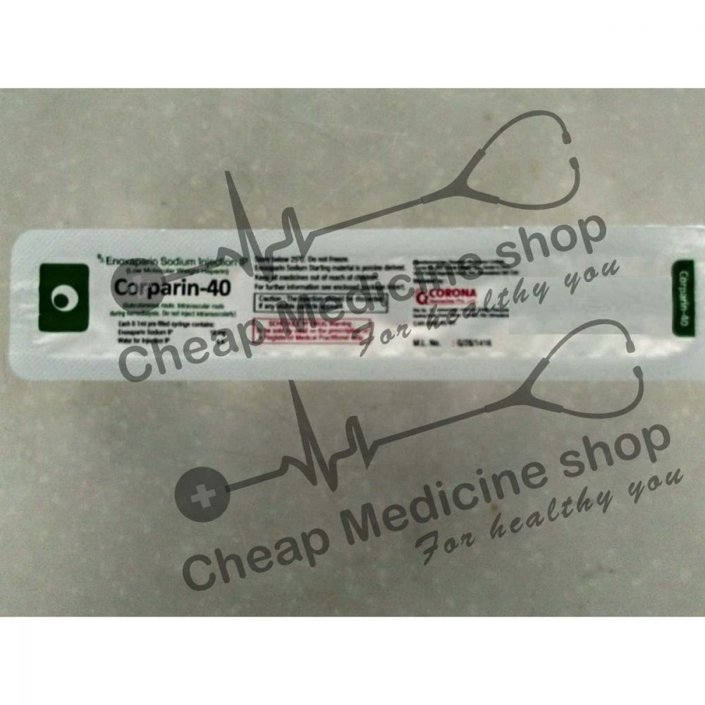 Buy Corparin 40 Injection
