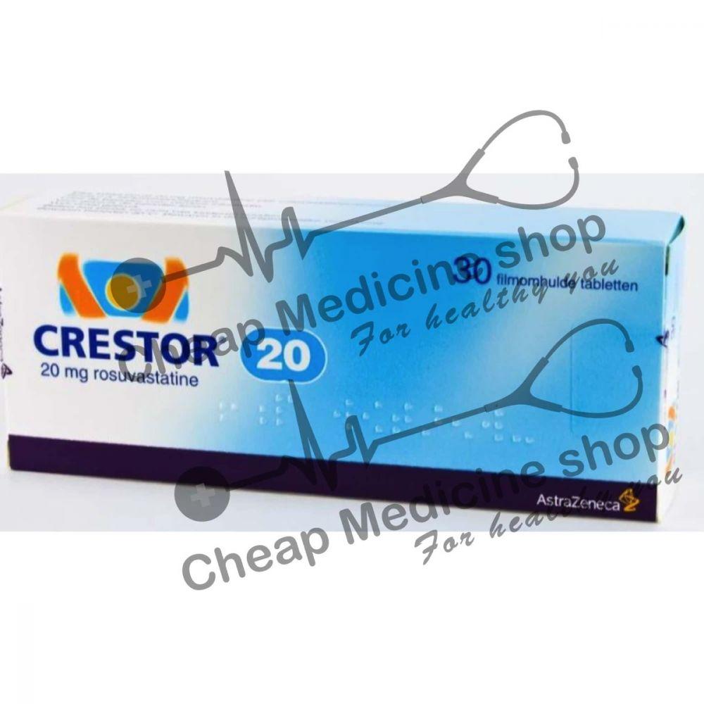 Buy Crestor 20 Mg Tablet