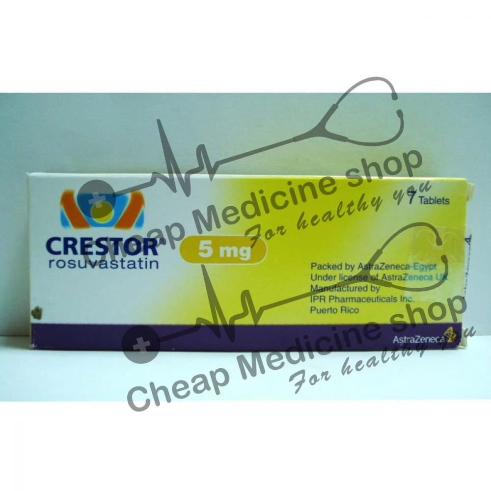 Buy Crestor 5 Mg Tablet