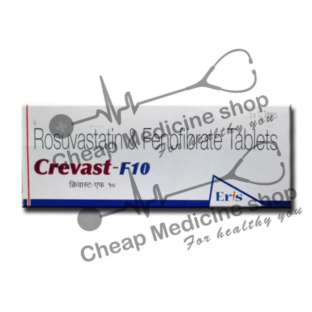 Buy Crevast-F 10 Tablet