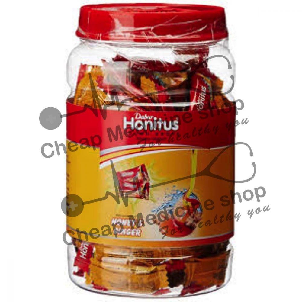 Buy Dabur Honitus Cough Drops Lozenges Ginger Honey