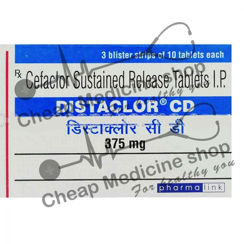 Buy Distaclor CD 375 Mg SR
