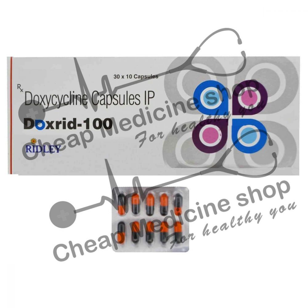 Buy Doxrid 100 Mg (Vibra)
