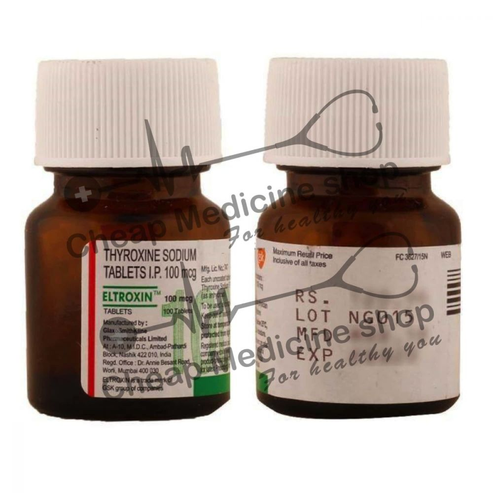 Buy Eltroxin 100 mcg Tablet