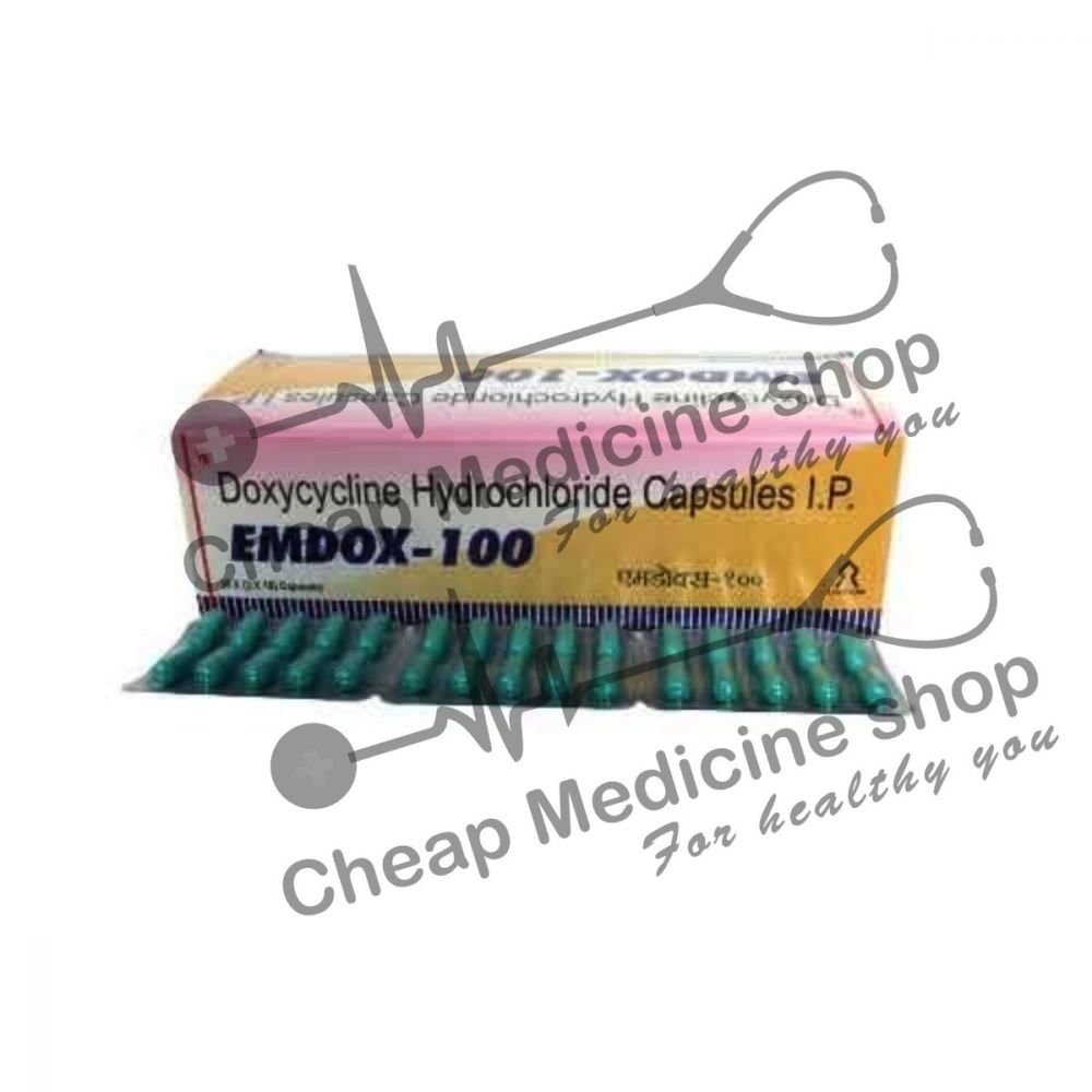Buy Emdox 100 Mg Capsule