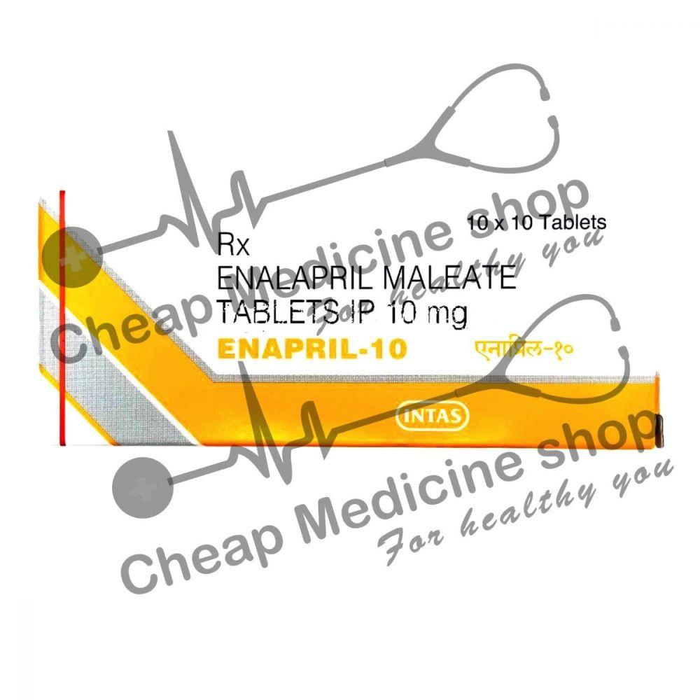 Buy Enapril 10 Mg (Vasotec, Enalapril)